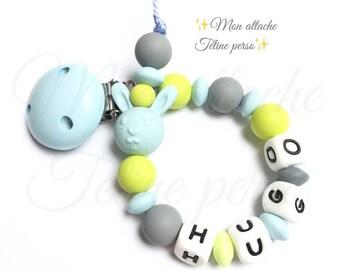 "Silicone pacifier ~ model Blue Rabbit ""Hugo"""