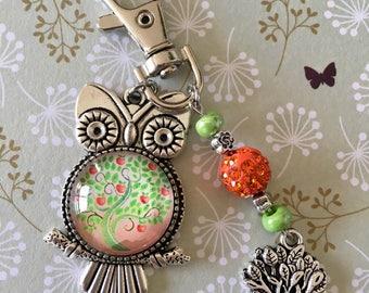 OWL tree jewelry romantic 1