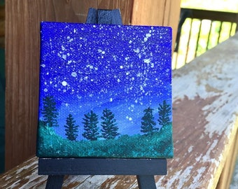 Starry Night in the Woods