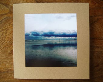 Seascape Instagram Handmade Blank Greetings Card