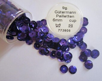 glitter purple gutermann