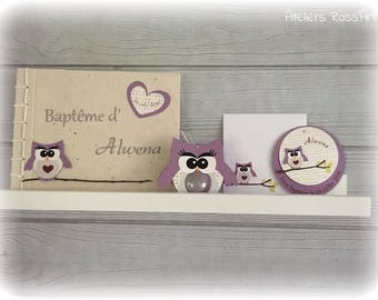 Guestbook bapeme OWL - OWL mam' Missy bou