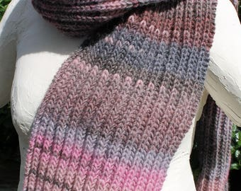 scarf unisex gray rose (2)