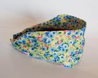 Floral Fabric Headband, Headbands for women