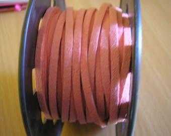 Light pink Nubuck suede cord