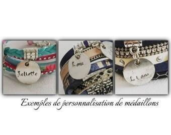 Additional Locket personalized bracelet