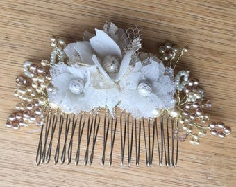 Lauren Lace Flower haircomb