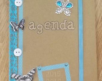 Agenda blue and kraft 2015-2016.