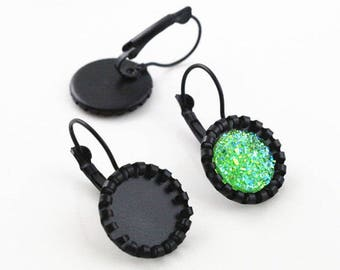 12 MM/10 sleeper Earring for cabochon 12 mm within 15 days