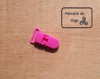 Clip (2 cm) KAM pacifier clip. Fuchsia B47.