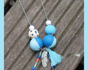 """necklace """"ocean"""""""