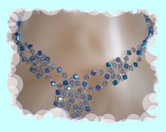 by riviera pearl swarovski Pearl Necklace