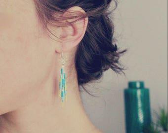 "Earrings plume ""Lola"" - 2017 Creation"