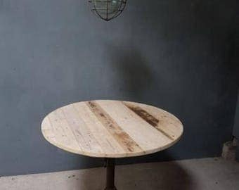 Industrial table round