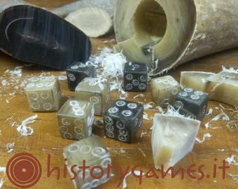 Bone dice - Dadi in osso