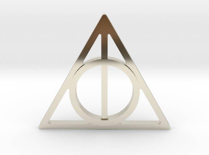 Harry Potter Deathly Hallows Symbol Lapel Pintie Tack Harry