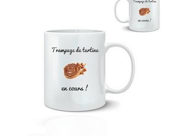Breakfast mug - mug 325 ml ceramic