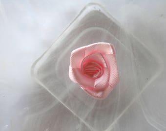 pink rose flower fabric scrapbooking