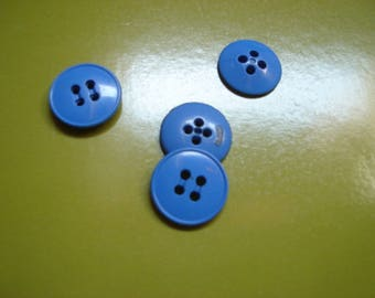 medium blue medium button end edge