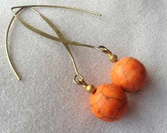 love pumpkin copper swing