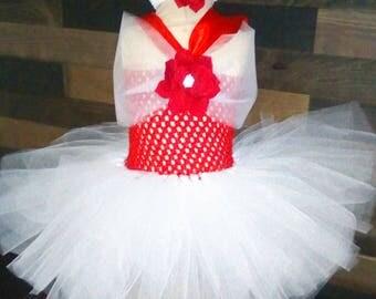 Baby tutu dress size 0/6 months