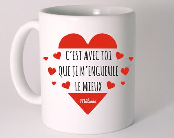 THE MUG special Valentine's day personalized