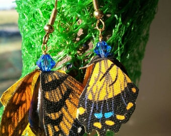 Tiger Swallowtail hand cut fabric