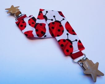 Blanket patterns ladybugs clips stars tie