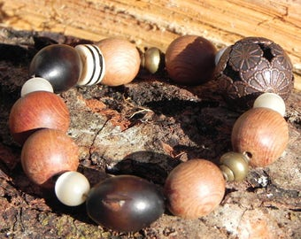 all natural ethnic bracelet
