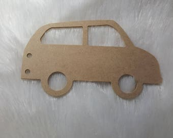 wooden stand to decorate car