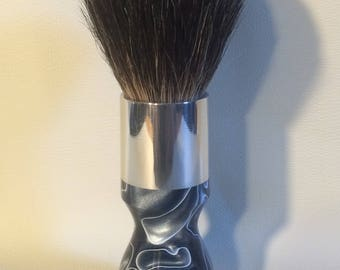 Custom Acrylic/Aluminum Shave Brush