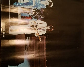 1970s  Rolling Stones concert poster