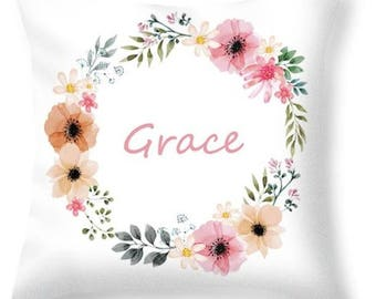 Grace Personalised Name Cushion