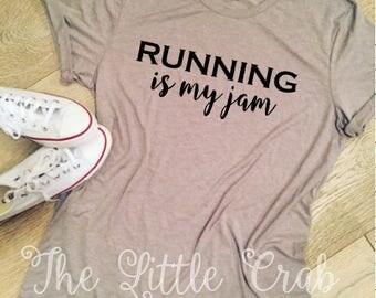 Running is my jam Tee