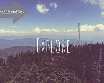 Explore Mountain Printable