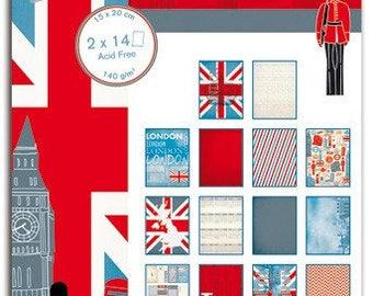 Block paper 15 x 20 - London - Toga destination