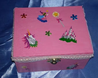 Pink box for girl