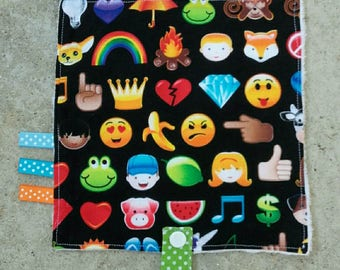 Blanket pacifier Emojis collection