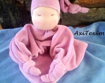 Blanket style pink waldorf