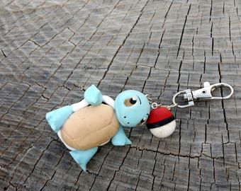 Keychain Carapuce/Squirtle, Pokemon number: 007