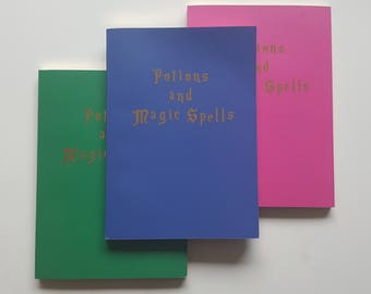 A5 Notebook - Potions and Magic Spells with lined pages