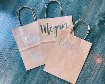 Custom Metallic (Embossed) Gift Bag