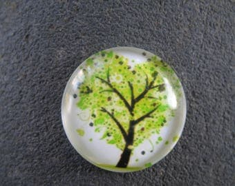cabochon 25 mm tree of life theme