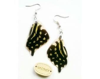 Tailee Jay butterfly wing earrings