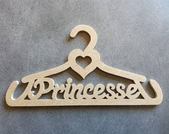 Hangers, racks heart Princess 28 x 14.5 cm