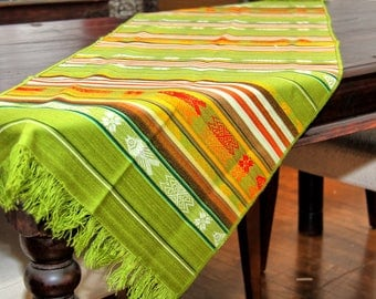TABLE RUNNERS IN COTTON MACHINE WASHABLE COLORS TO CHOOSE FROM