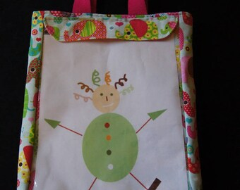 Bag to personalize - display your kids artwork!