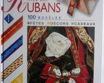 new - create with RIBBONS 100 models - party - decorations - gift book