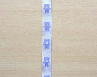 Ribbon 5 cotton Cubs shades of purple REF. 1822