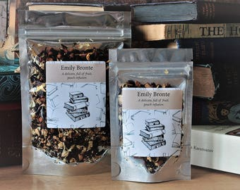Emily Bronte Inspired Tea - Author - Tea Gift - Literary Tea Gift - Bookish Gift - Author Gift - Wuthering Heights - Tea